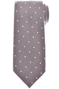 Tom Ford Tie Woven Silk Wool Pink Dot