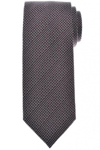 Tom Ford Tie Woven Silk Dark Red Stripe