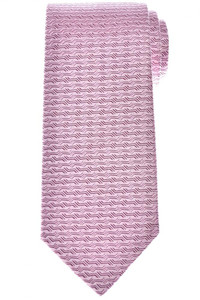 Isaia Napoli Tie Silk Purple Geometric