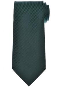 Isaia Napoli Tie Silk Green Tonal Solid