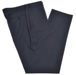 Isaia Napoli Dress Pants 130's 2-Ply Wool Size 40 Dark Gray