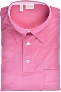 Brioni Polo Shirt Fine Cotton Size Medium Pink