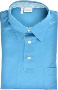 Brioni Polo Shirt Fine Cotton Size Medium Blue