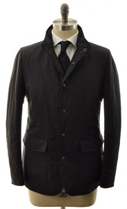 Allegri Quilted Reversible Outerwear Coat Jacket 48 Small Black