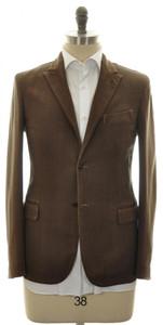 Boglioli 'Casati' Sport Coat Jacket 2B Cotton Stretch 38 48 Brown