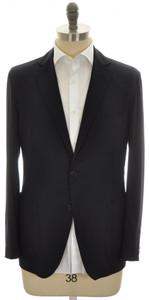 Belvest Sport Coat Jacket 2B 100% Cashmere Size 40 Navy Blue