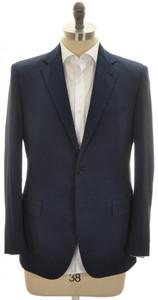 Belvest Sport Coat Jacket 2B Techno Cotton Size 40 Blue