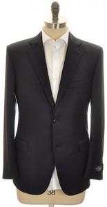 Belvest Sport Coat Jacket 2B Wool 110's Size 50 Dark Blue
