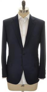 Belvest Sport Coat Jacket 2B Wool Mohair Size 42 S Blue