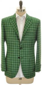 Kiton Sport Coat Jacket 'LASA' 3B Cashmere Blend 40 50 Green