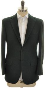 Kiton Sport Coat Jacket 3B Heavy Cashmere Flannel 40 50 Green