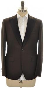 Boglioli 'Alton' Sport Coat W/ Vest 1B Wool Mohair 40 50 Brown