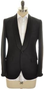 Boglioli 'Alton' Sport Coat 1B Shawl Wool Mohair Size 38 Black