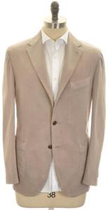 Boglioli 'Coat' Sport Coat Jacket Cotton Stretch 44 Brown