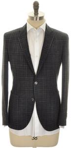 Boglioli 'K Jacket' 2B Sport Coat Wool Linen Size 38 Gray Black