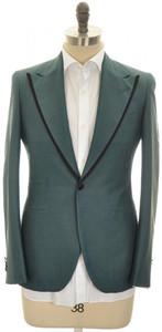 Boglioli 'York' 1B Formal Sport Coat Jacket Silk Size 38 Teal Blue