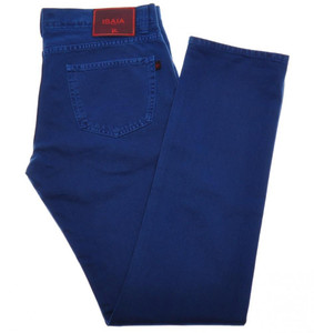 Isaia Napoli Selvedge Denim Jeans Cotton 30 Blue