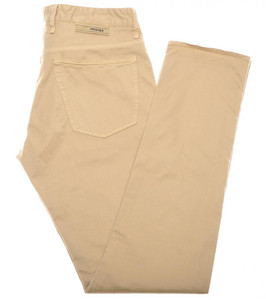 Incotex Jeans Cotton Twill 34 50 Khaki Brown