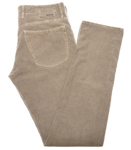 Incotex Jeans Cotton Stretch Corduroy 40 56 Brown