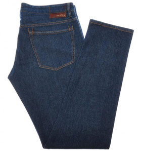 Incotex Jeans Cotton Stretch Denim 36 52 Blue