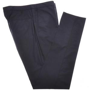 Incotex Dress Pants Cotton Poplin Stretch 38 54 Blue