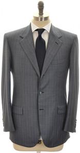 Brioni Suit 'Palatino' 3B Wool 150's 40 50 Blue Stripe