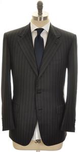 Brioni Suit 'Palatino' 3B Wool 150's 41 51 Black Stripe