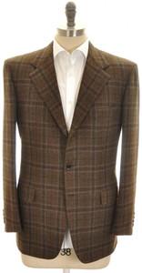 Brioni Sport Coat Jacket 'Palatino' Wool Cashmere 42 52 Brown