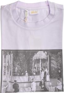 Brioni T-Shirt Extra Fine Washed Cotton Stretch Medium Purple