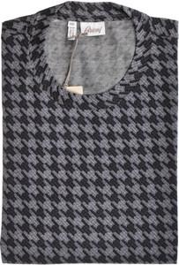 Brioni T-Shirt Extra Fine Cotton Large Gray
