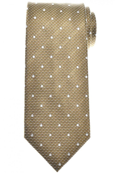 Tom Ford Tie Woven Silk Olive Green Small Dot