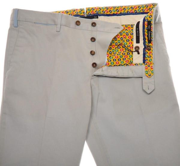 più foto 4b385 2fca8 PT01 Pantaloni Torino Slim Fit Pants Cotton Stretch 38 54 Brown PT0132