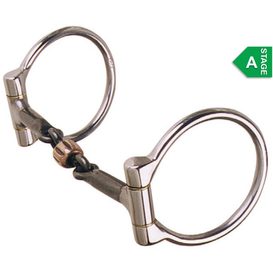 REINSMAN Stage C Slow 7 Ribbon Snaffle