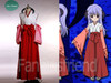 Higurashi Cosplay,Hanyu Kimono Hakama Set*5pcs