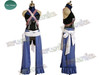 Kingdom Hearts Birth by Sleep Cosplay, Aqua Costume Set