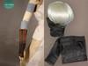 Optional item: black spandex mask $6.00