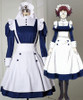 Black Butler/Kuroshitsuji Cosplay Mey-Rin Costume Maid Uniform