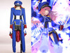 Macross Frontier Cosplay, Sheryl Nome Military Uniform Costume Set