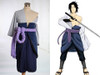 Naruto Cosplay Sasuke Uchiha Costume Outfit Set
