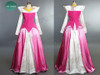 3- Disney Park version: pink corduroy top+ white brocade+ pink fake silk skirt ( Extra cost of $25.00