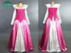 3- Disney Park version: pink corduroy top+ white brocade+ pink fake silk skirt ( Extra cost of $25.00