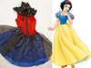 Disney Snow White and the Seven Dwarfs Inspired Cosplay, Princess Snow White Costume Outfit