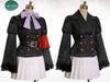 Optional items:     black fake leather waist belt $4.00