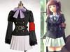 Umineko No Naku Koro Ni / Umineko: When They Cry Cosplay, Ange School Uniform Outfit*Winter Set