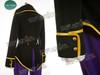 1- black + purple satin twilll