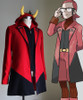 Pokemon ORAS Cosplay Magma Leader Maxie Costume Jacket & Vest