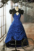 Doctor Who Inspired Gothic Steampunk Lady Costume Outfit