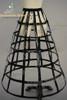 Optional item: long birdcage steel petticoat in black: SKU: UN00019L +$77