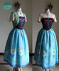 Disney Frozen Fever Cosplay, Anna Costume Set