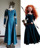 Brave (Disney film) Cosplay Princess Merida Costume Outfit